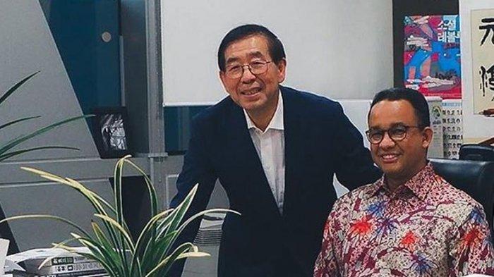 Anies Baswedan Puji Kebaikan Wali Kota Seoul Mayor Park Woon Soon Bantu DKI Jakarta Atasi Corona