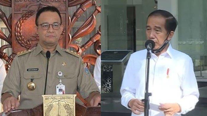 Sebut Target Ambisius,Jokowi Minta Anies Tuntaskan Vaksinasi 7,5 Juta Penduduk Jakarta Akhir Agustus