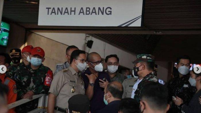 Gubernur Anies Baswedan Tekan Covid-19 di Pasar Tanah Abang, Nama Inul Daratista Disebut-sebut