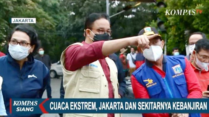Anies: Senin Dini Hari, Semua Titik Banjir Jakarta 100% Surut, Ini yang Sudah Dilakukan Pemprov DKI