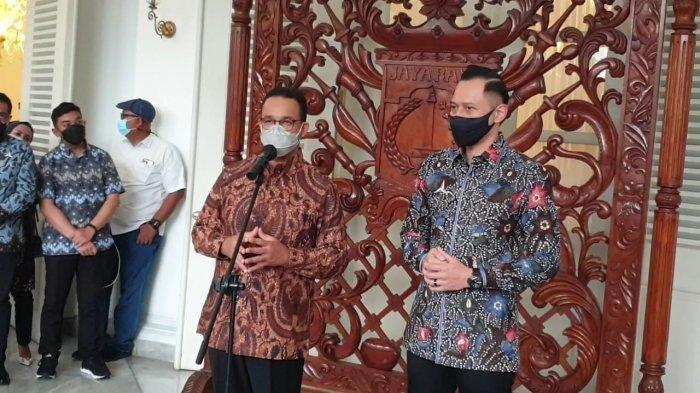 Anies Baswedan dan Agus Harimurti Yudhoyono Bertemu, Netizen: Duet Maut Pilpres 2024