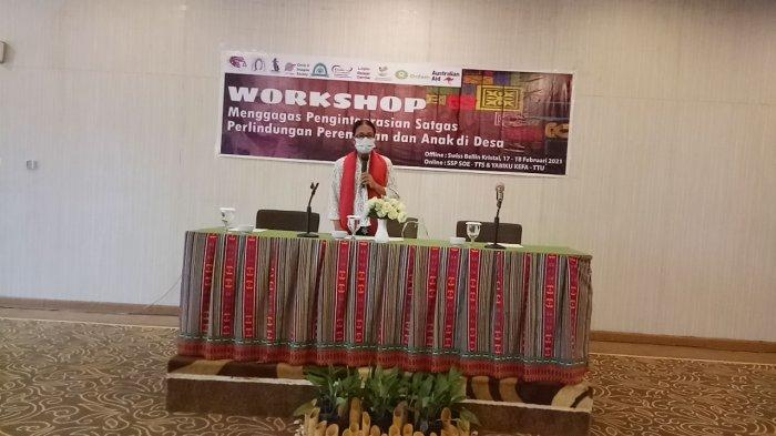Workshop Perlindungan Perempuan dan Anak: Nelson Dilema Meski Ada Perdes