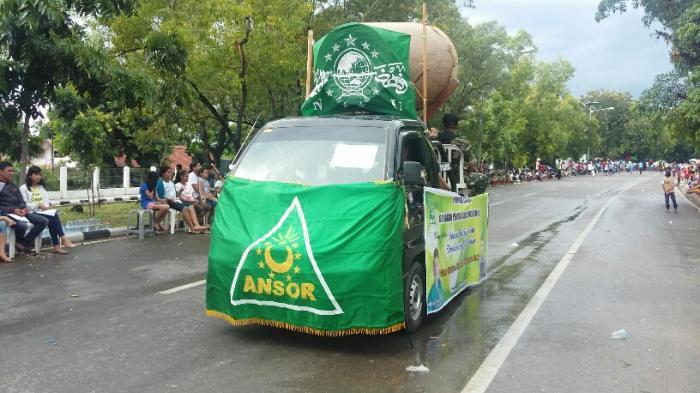 GP Ansor NTT Turut Pawai Paskah
