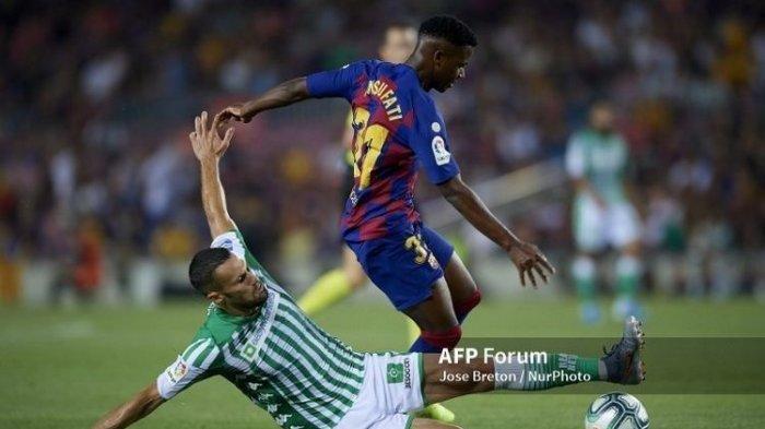LIGA SPANYOL! Hasil Pertandingan Barcelona vs Valencia Anak Ajaib Barcelona Ansu Fati Tampil Memukau