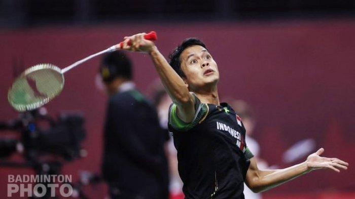Siaran Langsung Badminton Olimpiade Tokyo 2020, Anthony Ginting Vs Antonsen Live TVRI 31 Juli 2021