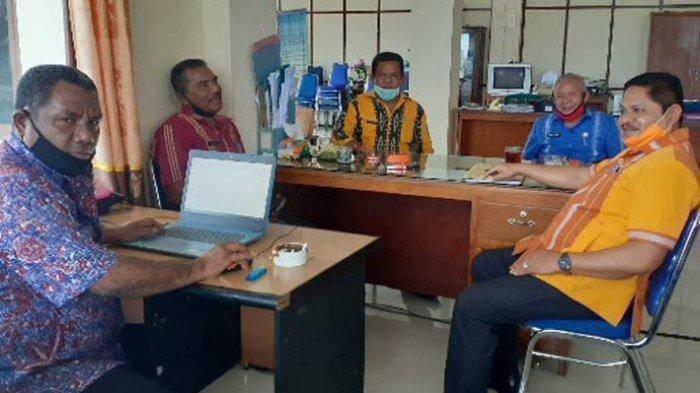 Bupati Agustinus Niga Dapawole : ASN Jadi Contoh Pelaksana Protokol Kesehatan di Masa New Normal
