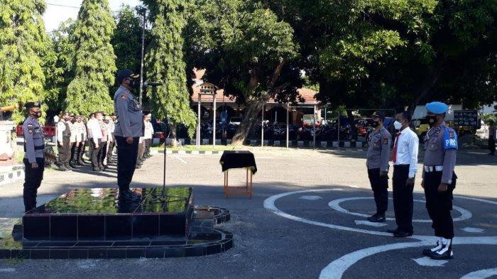 Kapolres Sikka Pimpin Apel Deklarasi Anti Narkoba, Ini Pesan Sang Kapolres