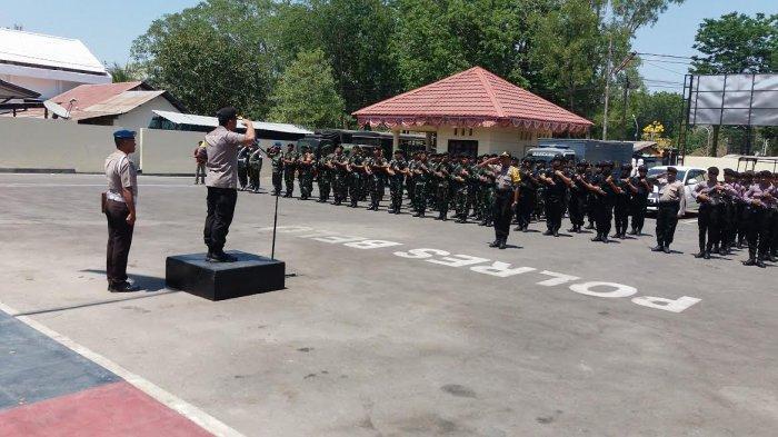 Polres Belu Persiapkan Pasukan Pengamanan Pelantikan Presiden