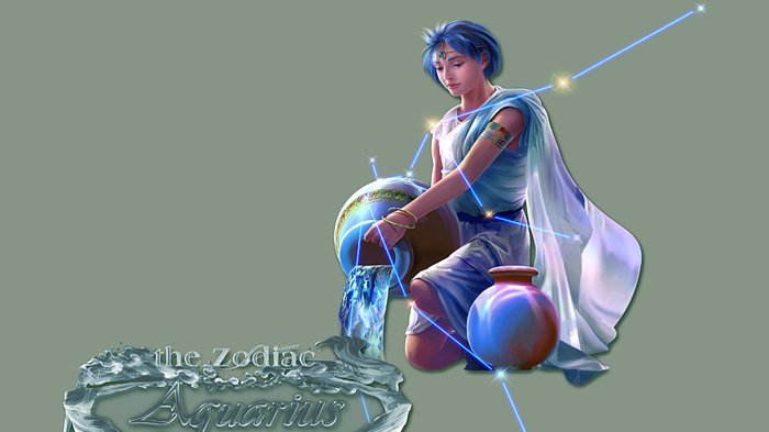 Lambang Zodiak Aquarius