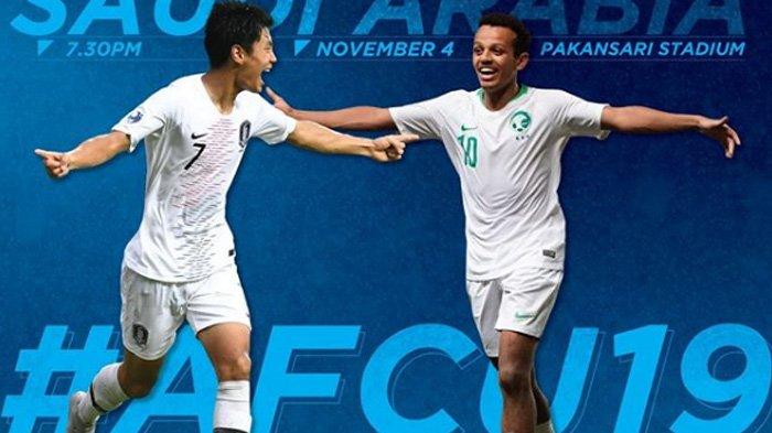 Final Piala Asia U-19, Taklukkan Korea Selatan 2-1, Arab Saudi Juara!