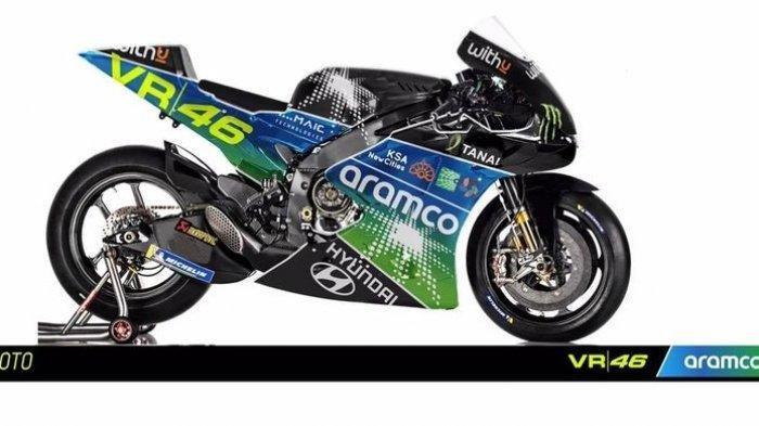 Perusahaan Arab Sponsori Tim Valentino Rossi, Berubah Nama Jadi Aramco Racing Team VR46 ?
