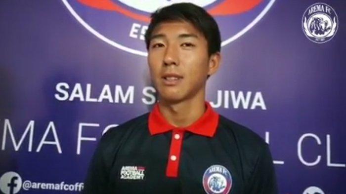 Pemain kelahiran Jepang Seiya Da Costa Lay yang akan dipromosikan ke tim senior Arema FC.