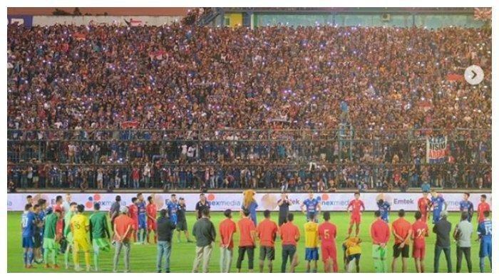 Aremania Ramaikan Stadion Kanjuruhan Piala Gubernur Jatim 2020, Penasaran Komposisi Arema FC, Info
