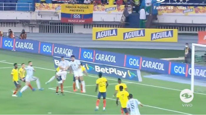 Kualifikasi Piala Dunia 2022 - Hasil Argentina vs Kolombia Imbang,Tim TangoKebobolan Injury Time