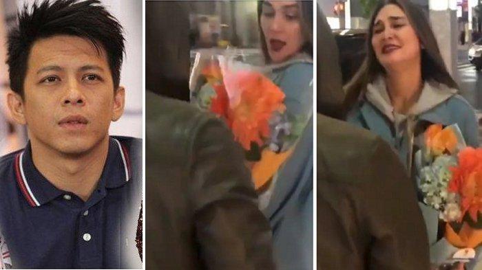 Ariel NOAH Kirim Bunga? Buket Bunga Ini Bikin Luna Maya Teman Raffi Ahmad Terharu & Hampir Nangis