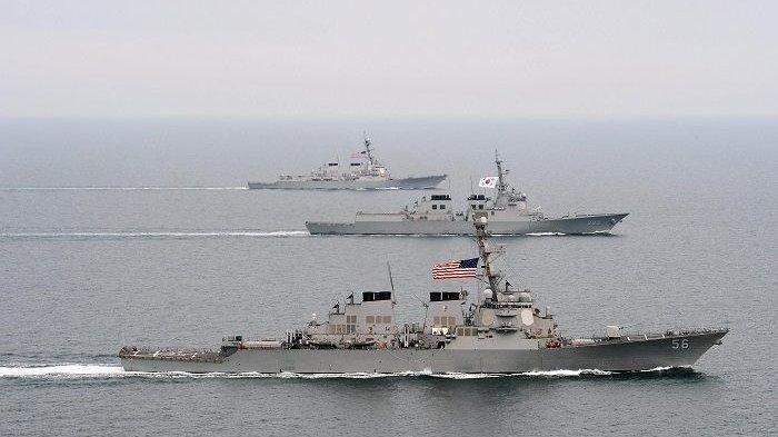 CHINA Panik, Kapal Perang AS Serobot Selat Taiwan, Negeri Panda Langsung Siaga Perang, Siap Serbu