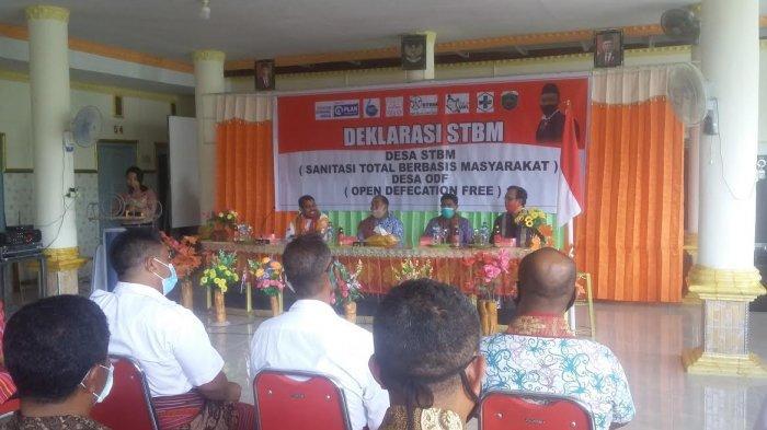 Wujudkan Malaka jadi Kabupaten STBM, Zakarias Nahak Minta Kades Buatkan Perdes, Simak !