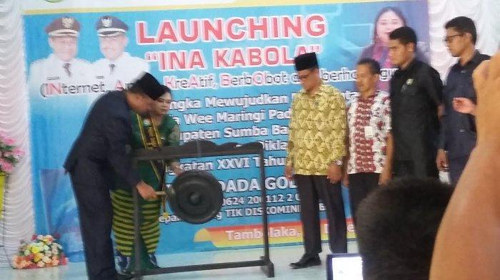 Asisten Pemerintahan Dan Kesra Sumba Barat Daya Resmi Launching Internet Ina Kabola