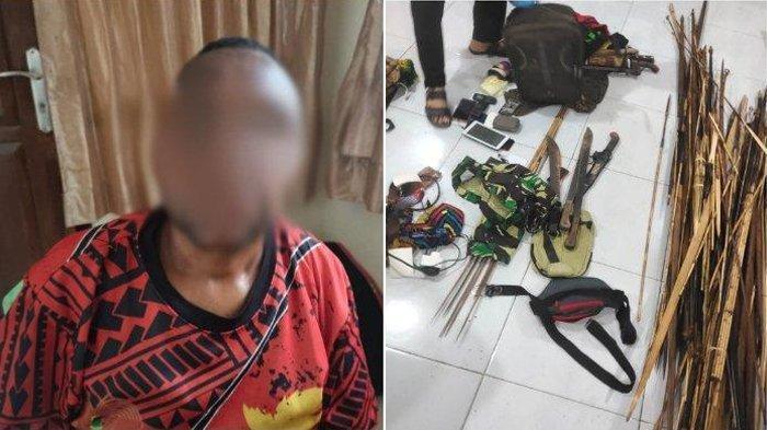 Penangkapan Oknum ASN Yahukimo Pemasok Senjata untuk KKB Papua Didukung Barang Bukti