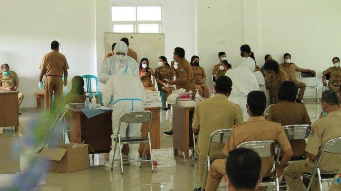Hasil TCM 17 Sampel di Kabupaten Sumba Timur Positif Covid-19