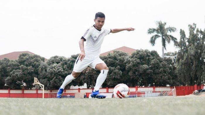 Asnawi Mangkualam saat membela Timnas Indonesia U-23.