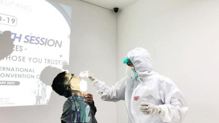Karyawan Aston Kupang Hotel Lakukan Rapid Tes Antigen, Hasilnya Negatif