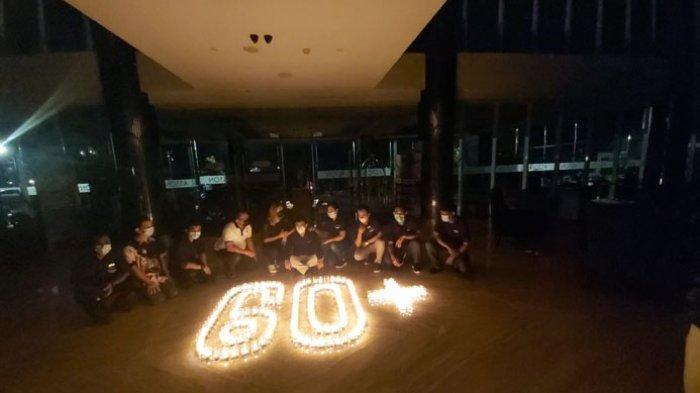 Aston Kupang Rayakan Earth Hour Selama 60 Menit