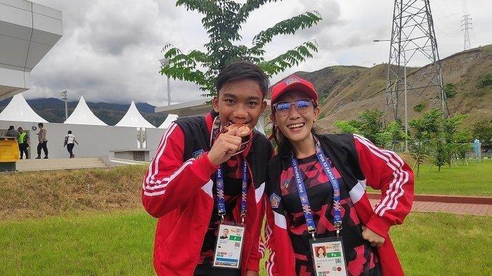 Pertama Tampil di PON XX Papua, Atlet Selam Putu Sheva Raih Perunggu, Sempat Terpapar Covid-19