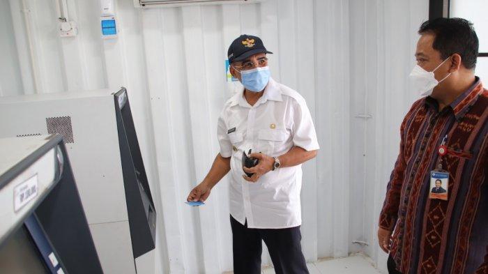 Wali Kota Kupang Sebut ATM Kontainer Bank NTT KCU Kupang Tingkatkan Pertumbuhan Ekonomi