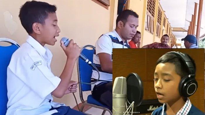 Suara Betrand Peto Disanding dengan Suara Siswa SMPN 1 Cibal Manggarai, 62 Ribu Penonton di Youtube