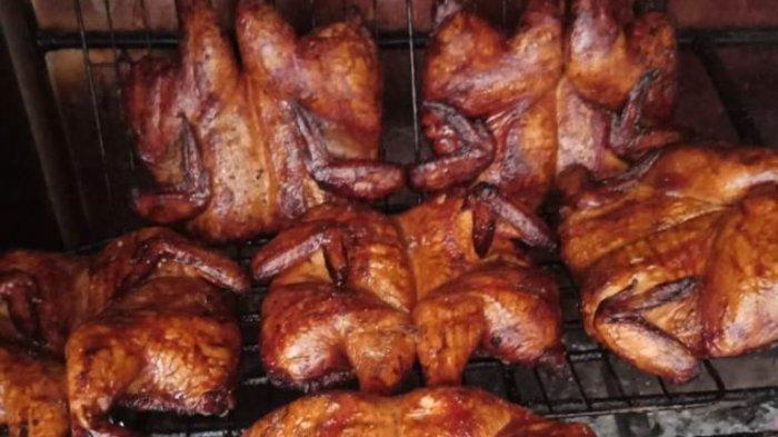 Ayam Asap Ala Sahid T-More, Dagingnya Empuk Bikin Nyami