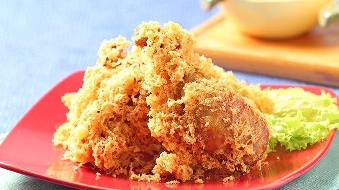 Sajian Ayam Kremes Kelapa Ini Sangat Cocok Disajikan Saat Lebaran,Yuk Praktek Ada Resepnya Loh Guys