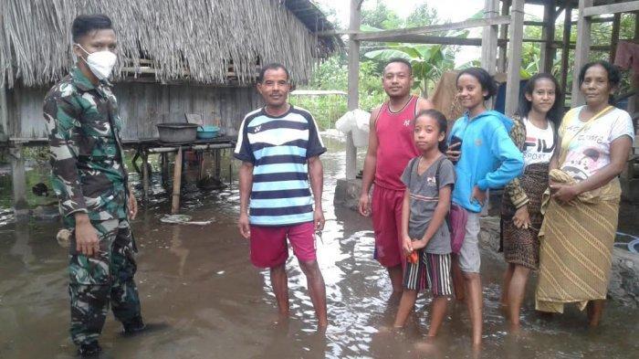 Terjadi Gelombang Pasang 5 M di Pantai Utara Kabupaten Ende, Dua Desa Terdampak