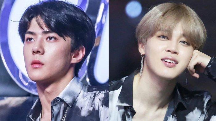 Inilah 8 Momen Ketika Member EXO dan BTS Terciduk Kenakan Pakaian yang Sama, Siapa Lebih Keren?