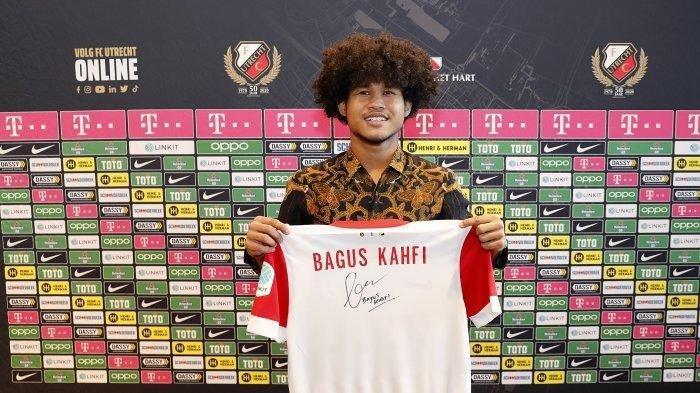 FC Utrecht Beri Diskon Jersey Edisi Bagus Kahfi, Simak Harga dan Caranya, Dijual Terbatas INFO