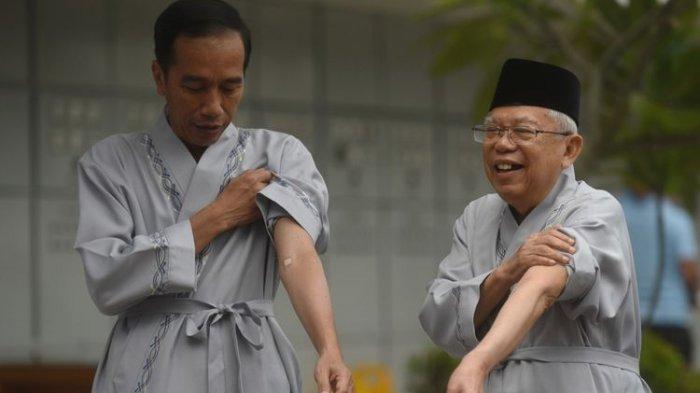 6 Bulan Jelang Pilpres 2019, Elektabilitas Joko-Ma'ruf 60,4 Persen, Prabowo-Sandi 29,8 Persen
