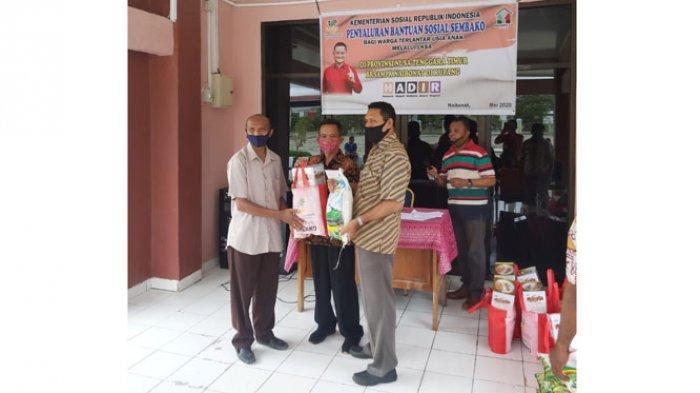 Balai Anak Naibonat Salurkan 593 Paket Bantuan Penanganan Pandemik Covid-19