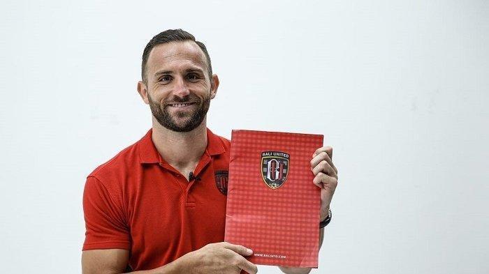 Kesetiaan Striker Ilija Spasojevic di Bali United Dibayar dengan Perpanjangan Kontrak Selama 3 Tahun