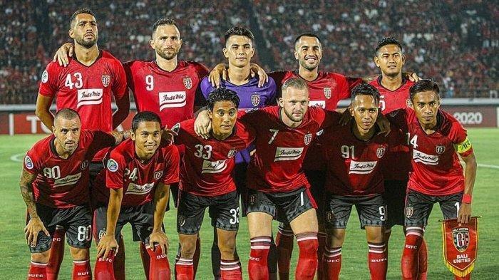 Tim Bali United saat berlaga diajang AFC Cup 2020