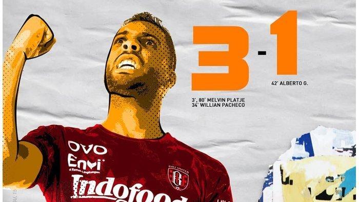 Liga 1 2020 - Bali United vs Madura United, Serdadu Tridatu Jinakkan Laskar Sape Kerrap
