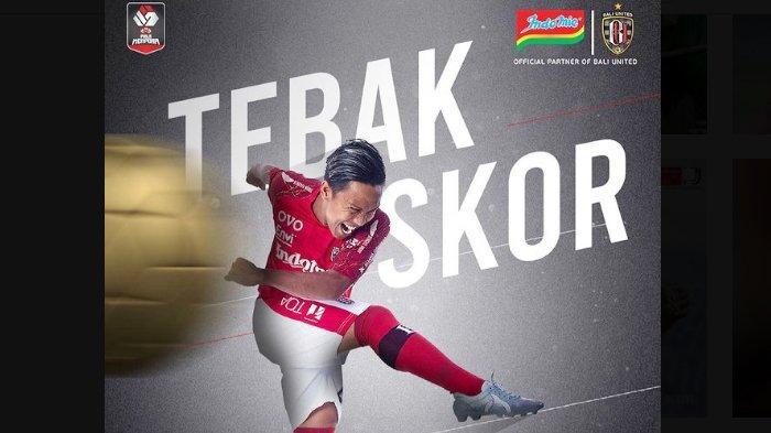 Saksikan pertandingan perempat final terakhir Piala Menpora 2021, antara PSS Sleman vs Bali United, Senin 12 April 2021 malam.