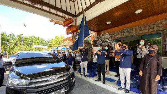 Bank Mandiri Peduli Covid-19,  Regional XI Bali dan Nusa Tenggara Beri Bantuan