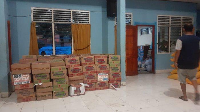 Bantuan Bencana Korban Banjir Adonara Mulai Berdatangan dan Disalurkan ke Tempat Pengungsian