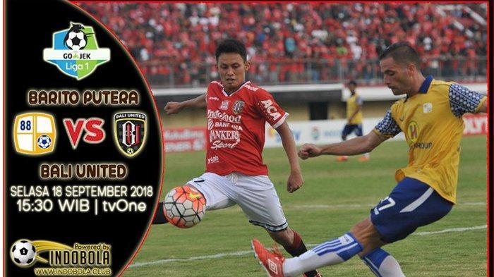 Live Streaming Indosiar Barito Putera vs Bali United: Kesempatan Mendulang Kemenangan Perdana