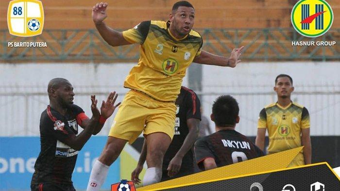 Persipura Jayapura unggul 4-0 atas Barito Putera di Liga 1 2019, Jumat (23/8/2019).