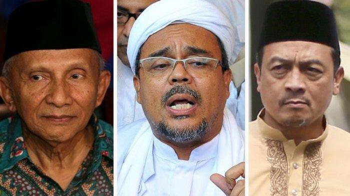 Bawa 4 Alat Bukti, Dewi Laporkan Amien Rais, Rizieq Shihab, dan Bachtiar Nasir ke Polisi