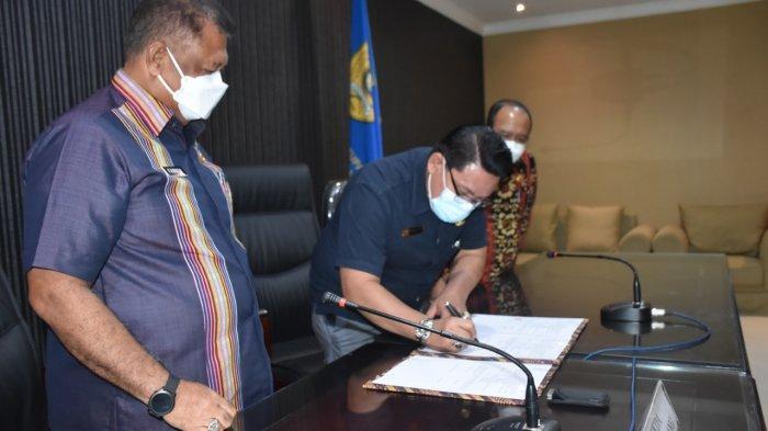 Pemkot Kupang Teken MoU Dengan BBTKLPP Surabaya Demi Kualitas Tenaga Kesehatan