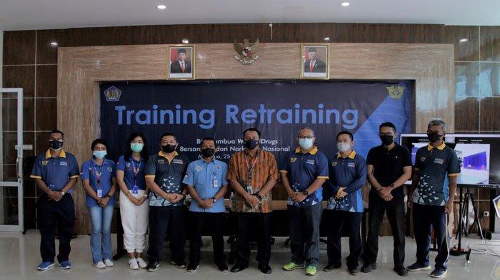 Bea Cukai Atambua Gelar Training Retraining Bersama BNN Belu