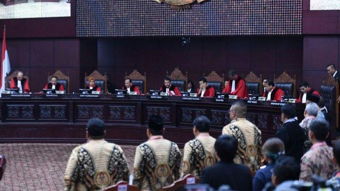 MK Tak Setuju Dalil Paslon 02 soal Kecurangan Pemilu Perupa Penyalahgunaan APBN