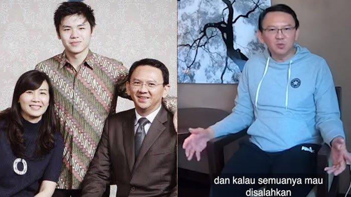 Ahok Ungkap Penyesalan Terdalam, Sebut Pernah Lukai Hati Nicholas Sean karena Singgung Veronica Tan